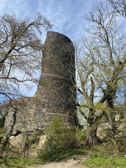 Tomburg Rheinbach Feuerroute