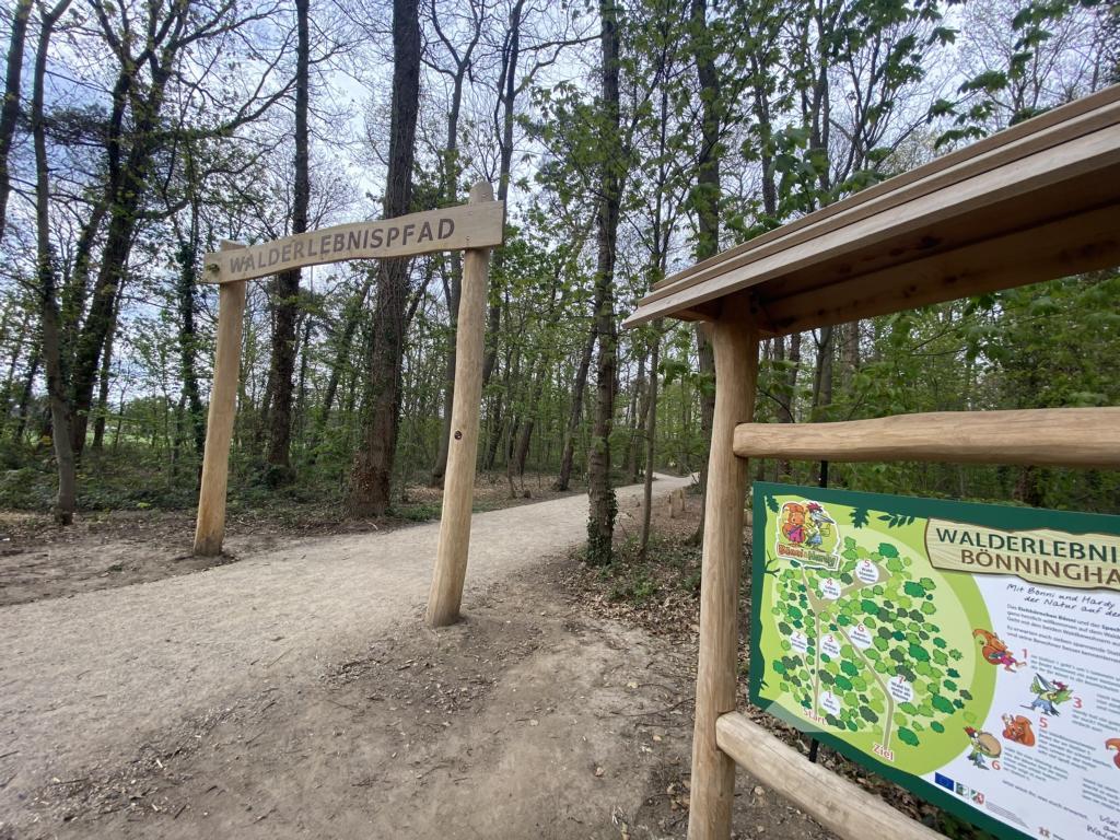 Walderlebnispfad Alpen Wesel Spielplatz